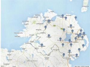 U3A map